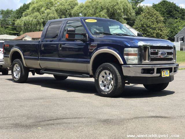 2008 Ford F 350 Lariat For Sale In Syracuse New York Ontario Auto Want Ad Digest