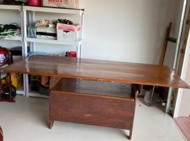 Convertible Solid Wood Table