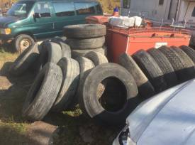 Trailer of tires - 22.5 and 24.5
