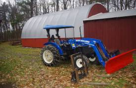 NH Workmaster Tractor